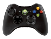 Official Xbox 360 Wireless Controller - Black (Xbox 360)