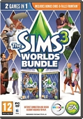 The Sims 3 Worlds Bundle (PC DVD)