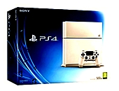 Sony PS4 Console (White)