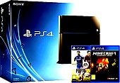 Sony PS4 Console with FIFA 15 and Minecraft (PS4)